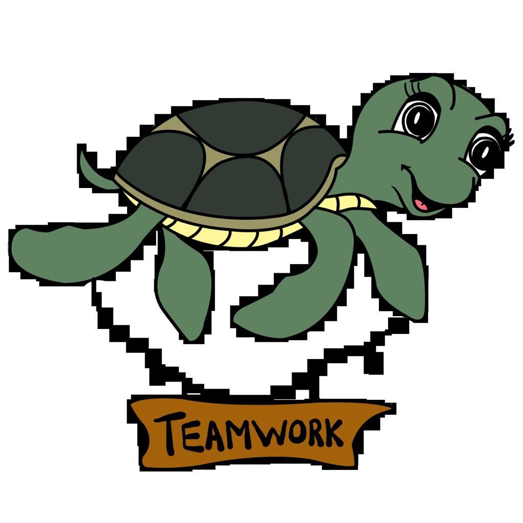 Tina the teamwork turtle image