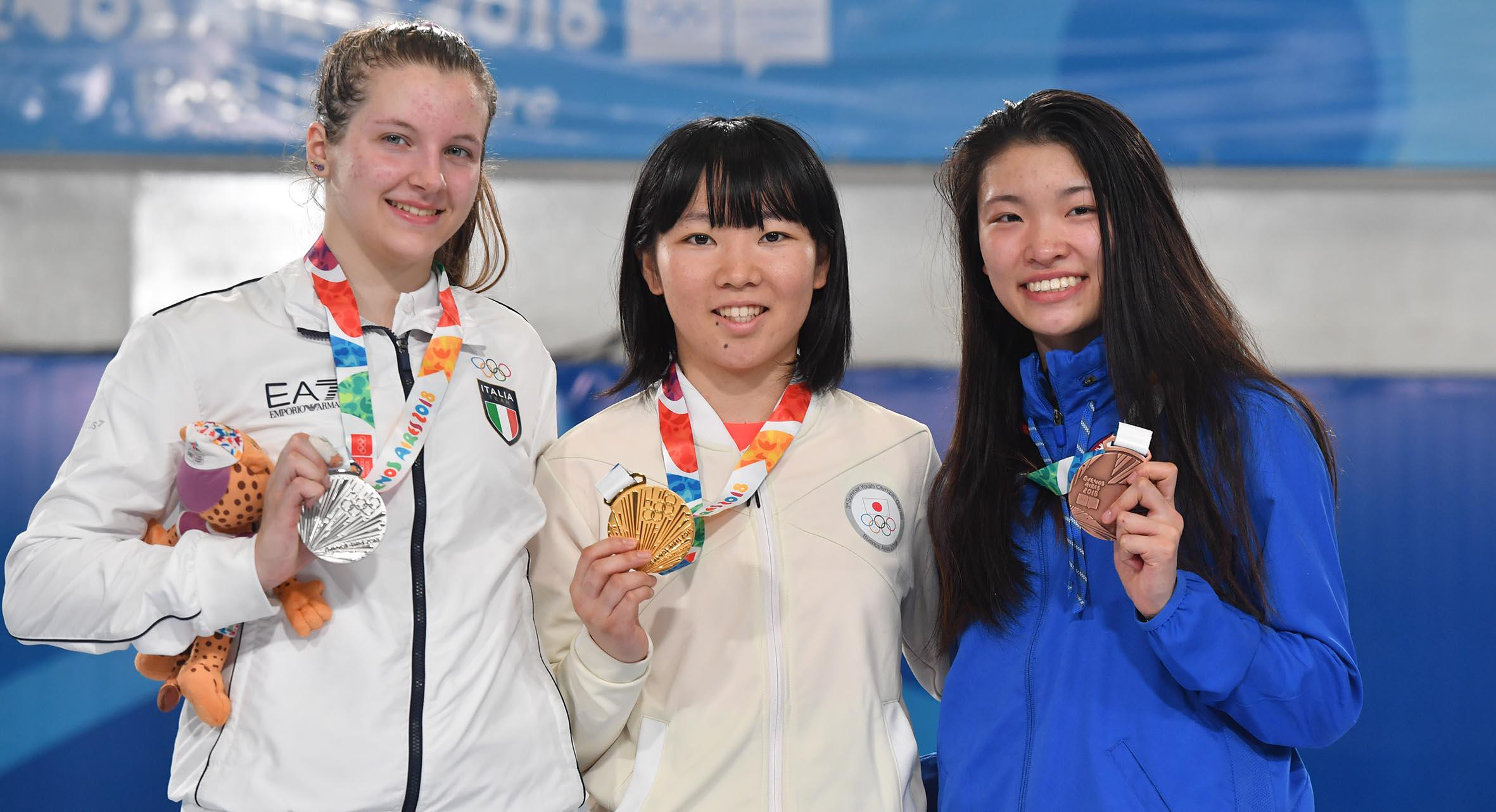 09fb5173c59 May Tieu Wins First Youth Olympic Medal for Team USA