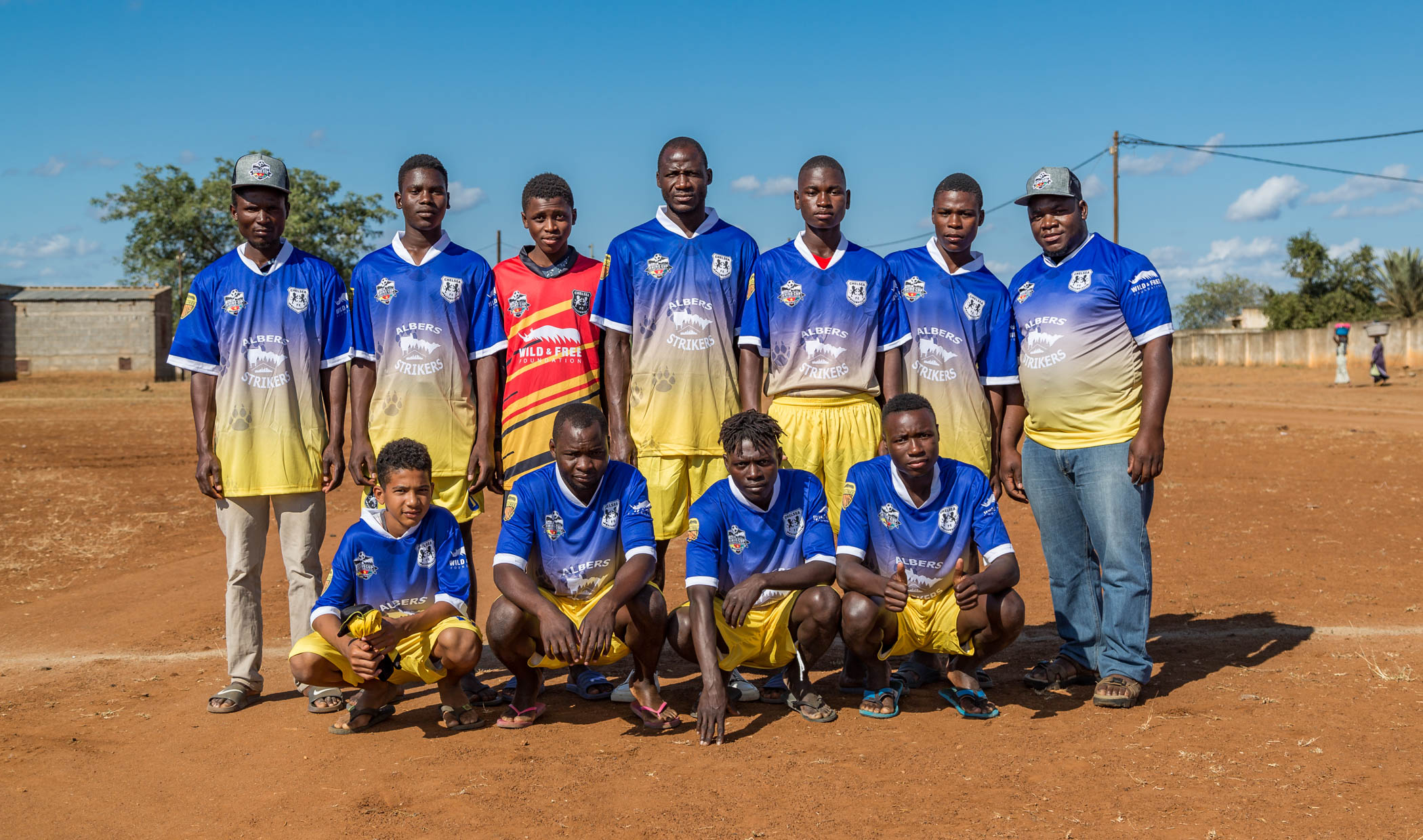 Chelsea FC Lions Team Photo, Rhino Cup Champions League, May 2019