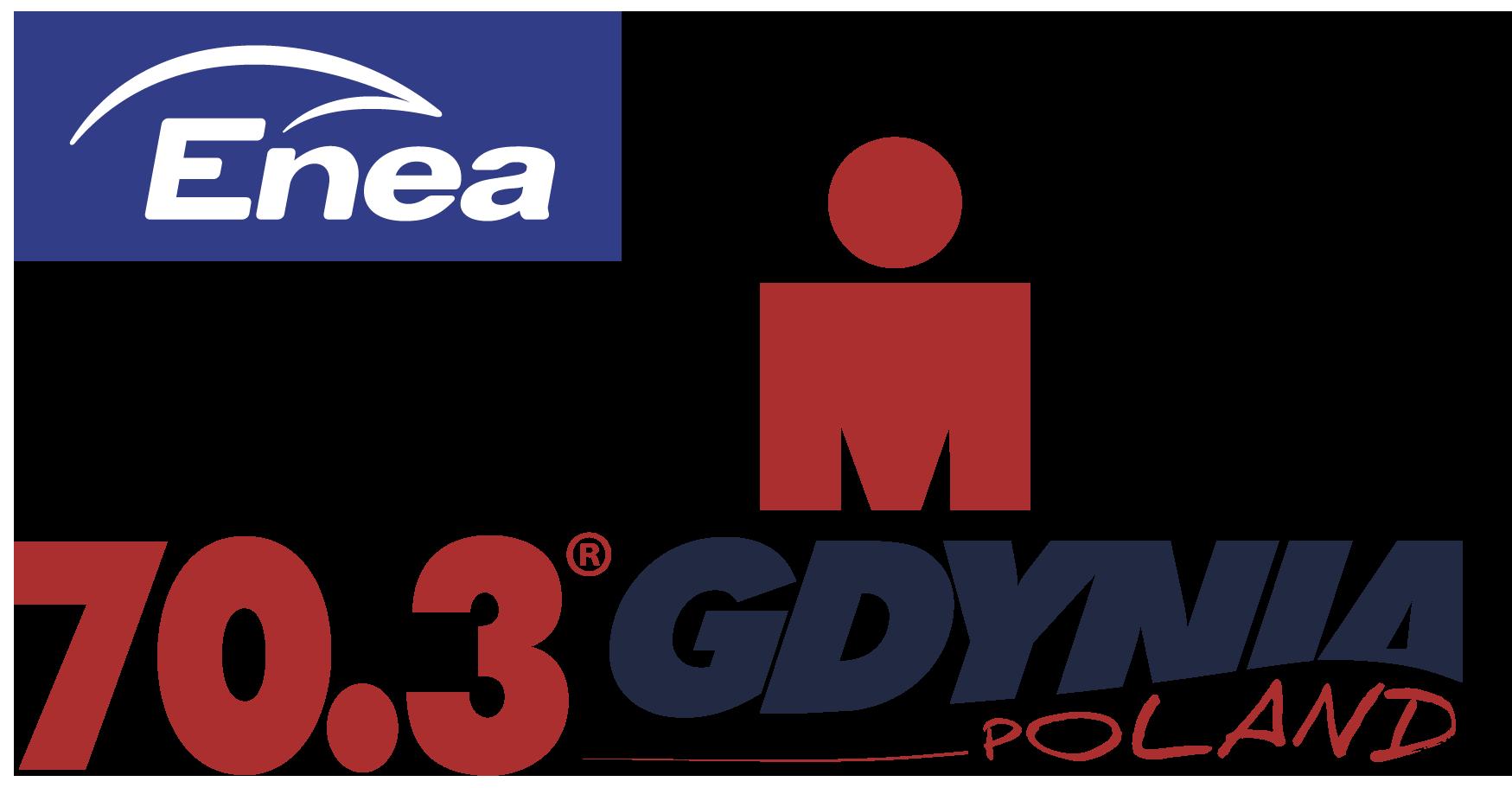 Official Enea IRONMAN 70.3 Gdynia race logo