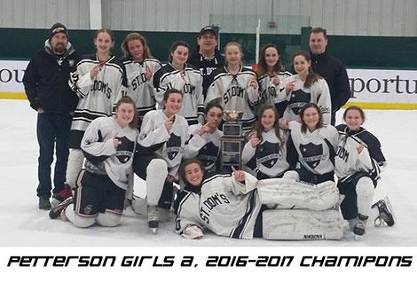 Petterson Girls A, 2016-2017 Champions