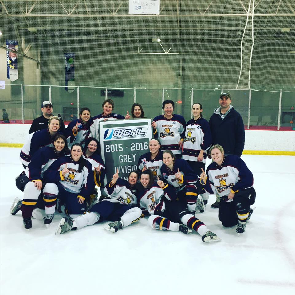 2016 WCHL Grey Division Champions