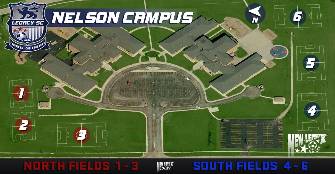 Nelson Campus map