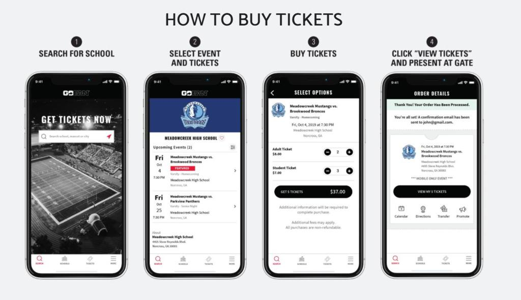 Online Ticket Purchase