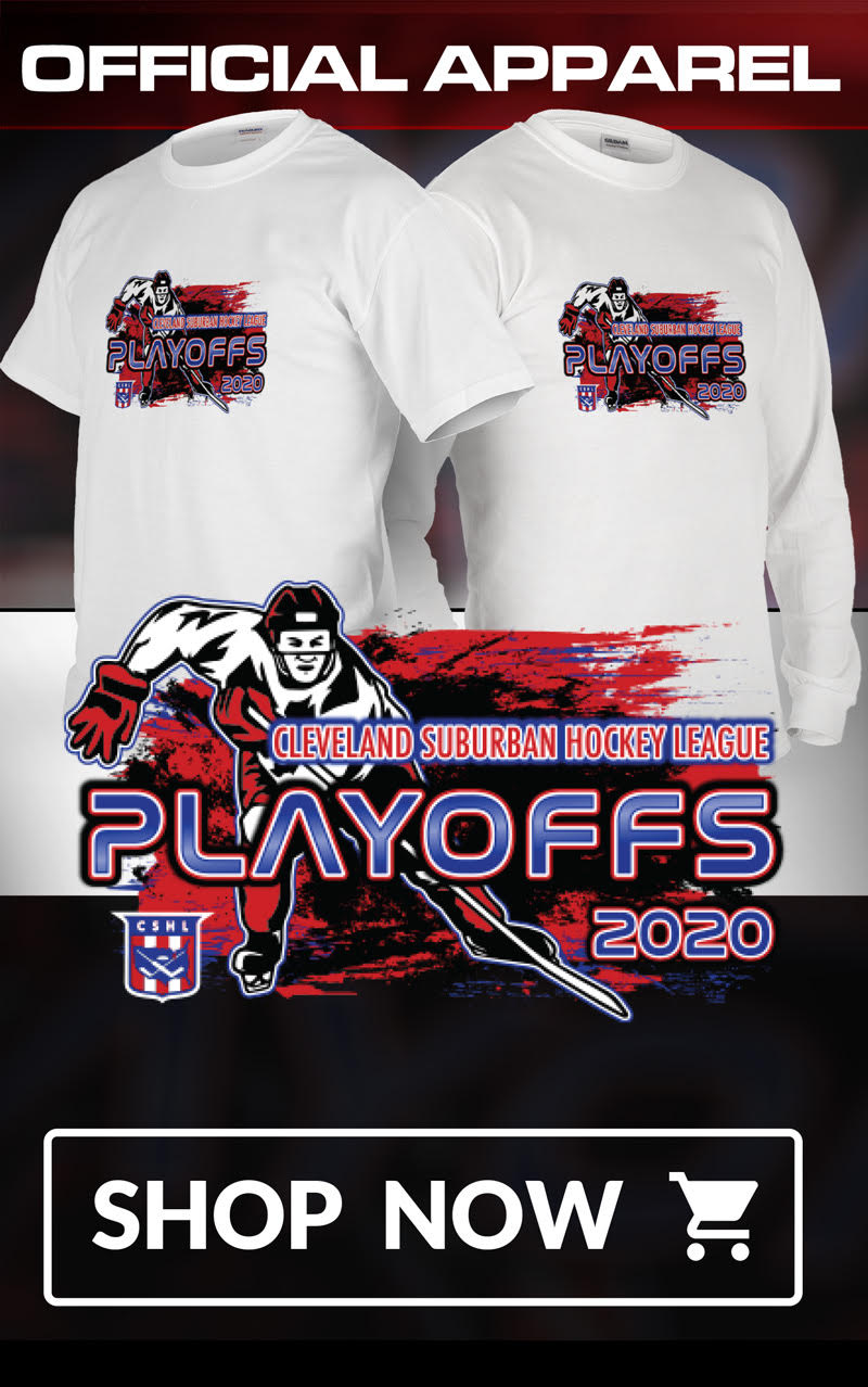 Official CSHL Playoff Apparel