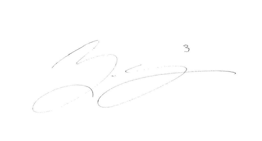 Eddie Edward's signature