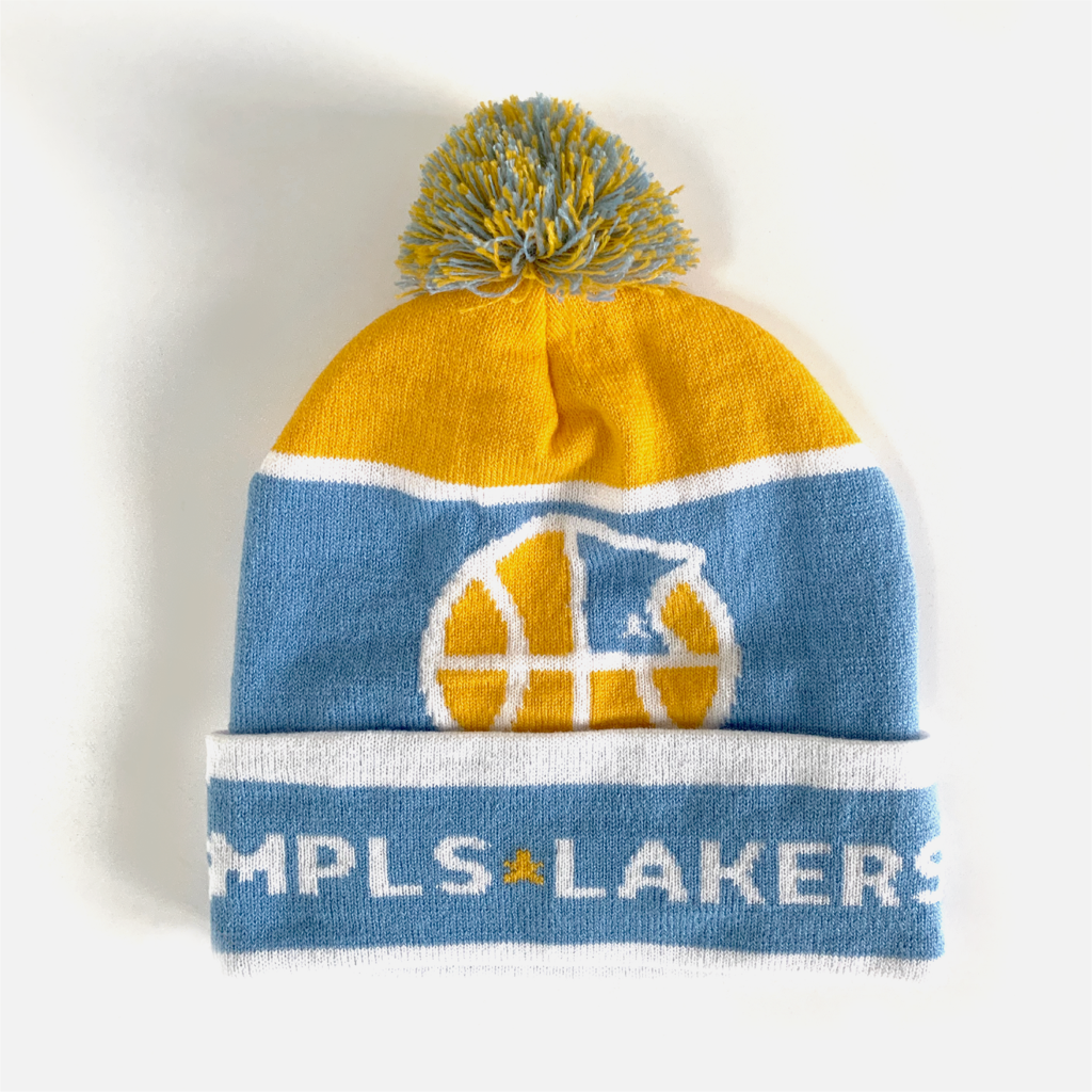 Official Mpls Lakers Youth Traveling Basketball Program Inc apparel and gear in Minneapolis, MN: Mpls Lakers stocking cap with in-stitch lettering and  logo