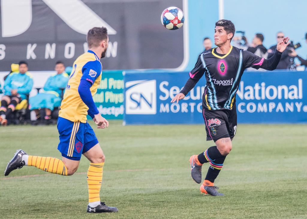 Christian Torres is taking advantage of the new position head coach Eric Wynalda is playing him in, becoming a feature on Lights FC's Starting XI.