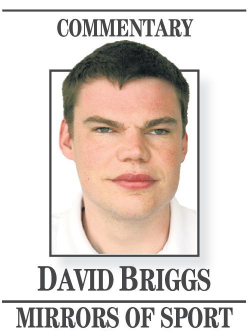 David Briggs Mirrors on sport