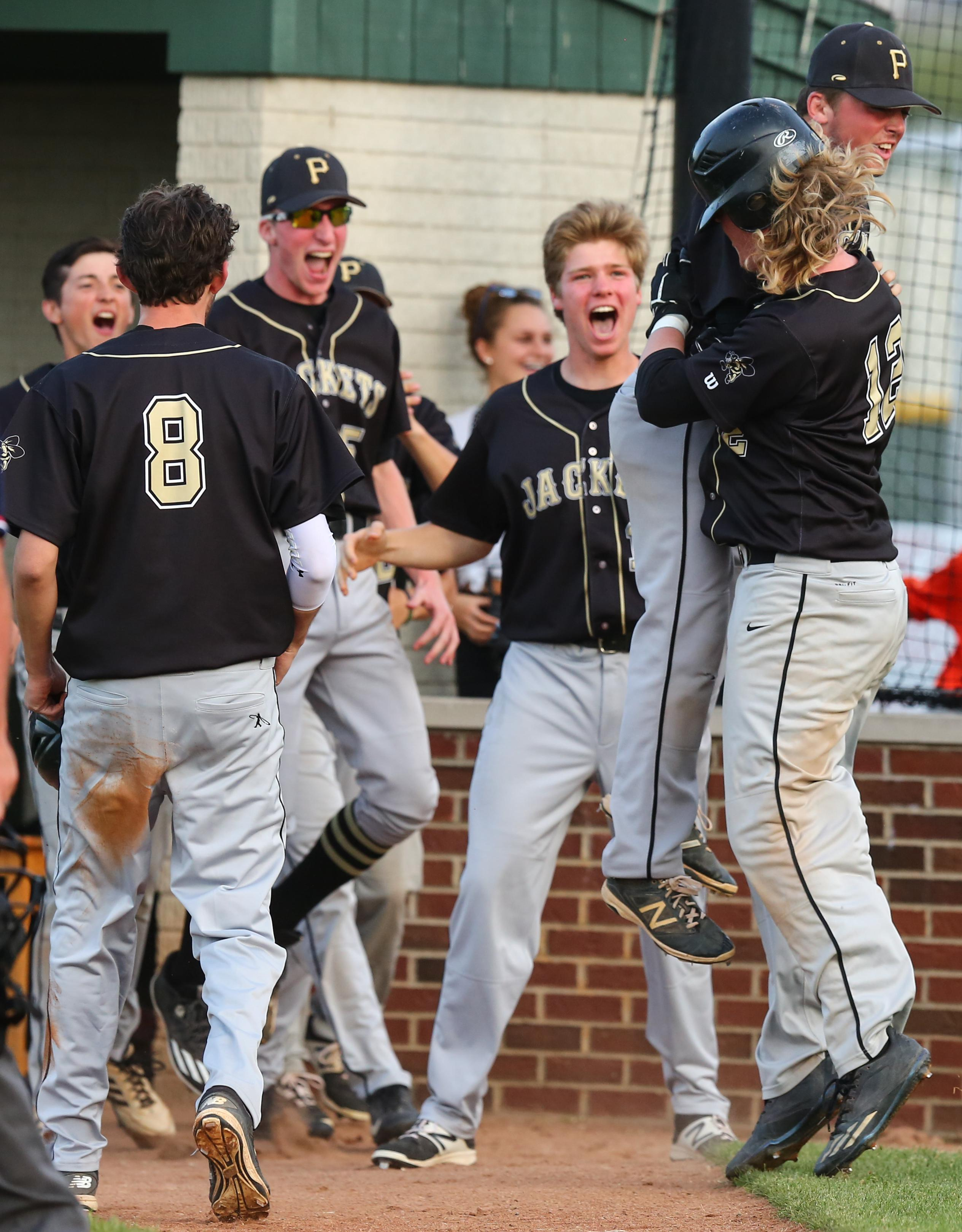 Perrysburg baseball celebrates