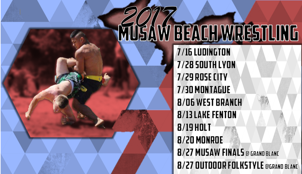 Your for MUSAW Beach Wrestling