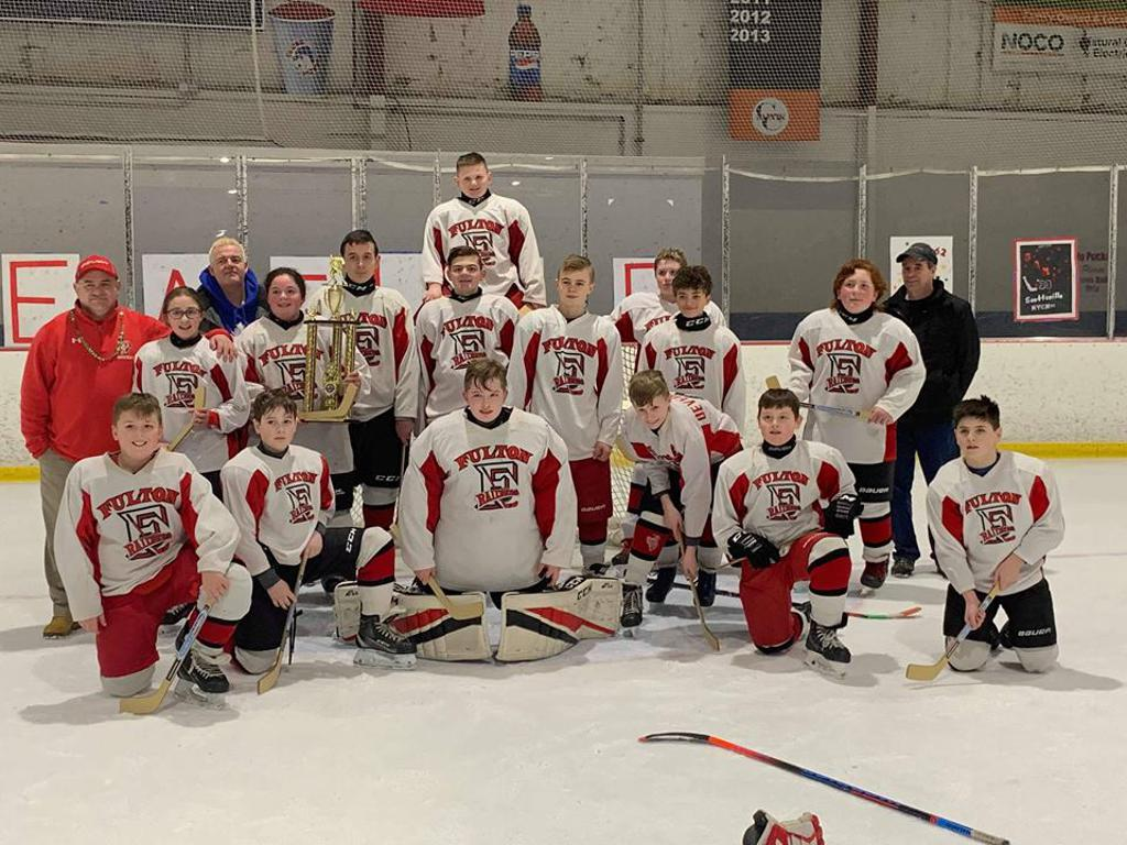 Fulton PeeWees take home the Championship at the March Madness Tournament