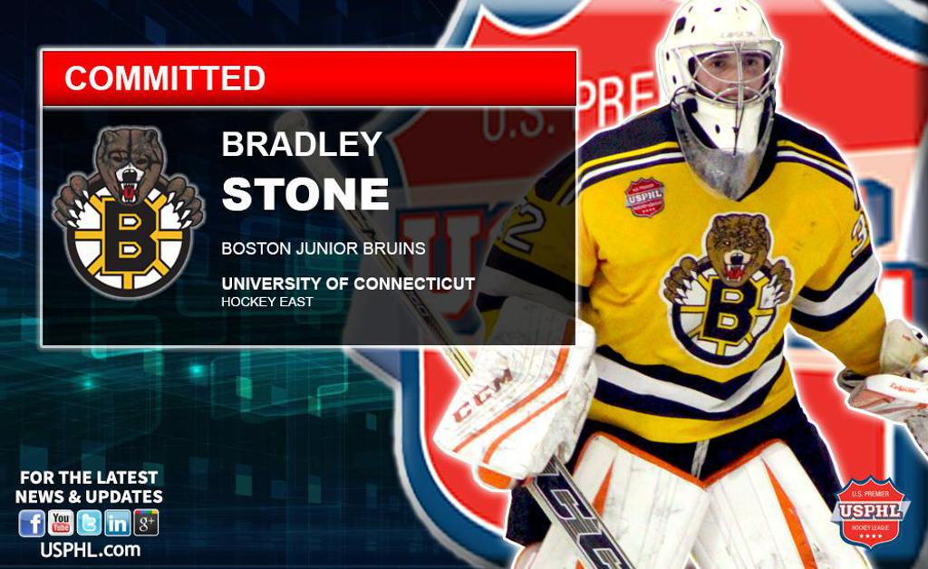 Junior Bruins  Bradley Stone Commits to NCAA DI UCONN 049791d39