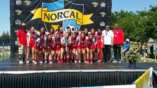 Wahoo..Congrats U16G CA Northstar Champs!