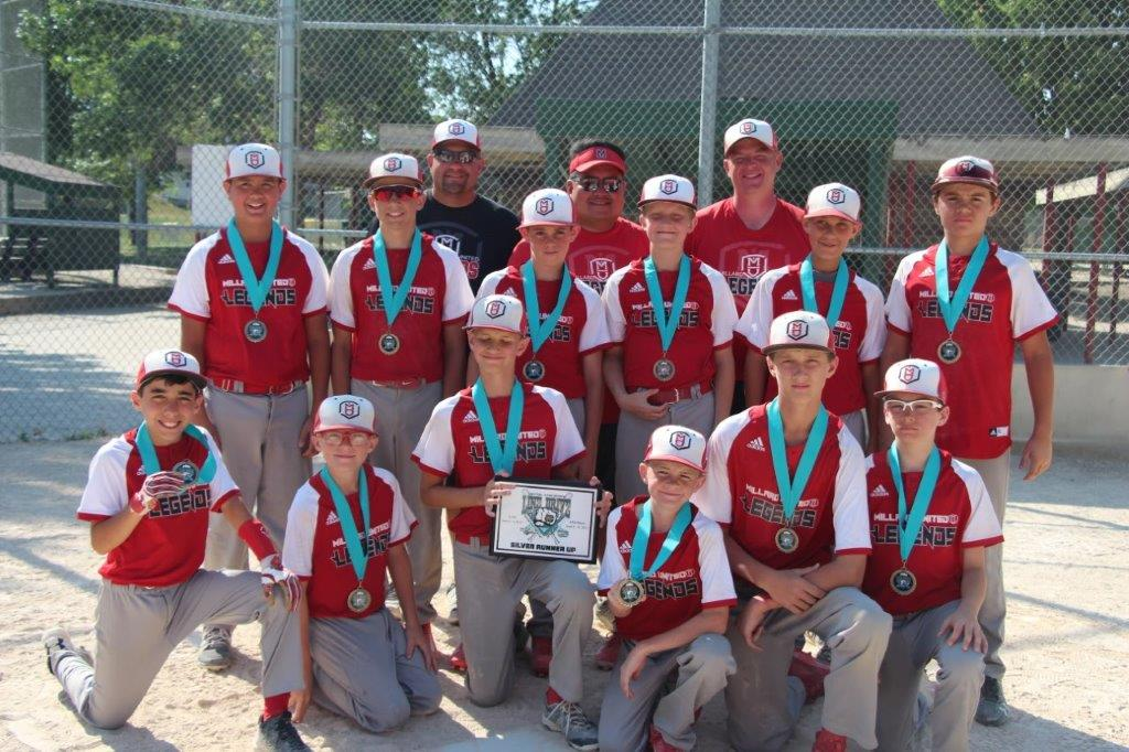 Millard Red Legends 12 Runner up Line Drive Tournament