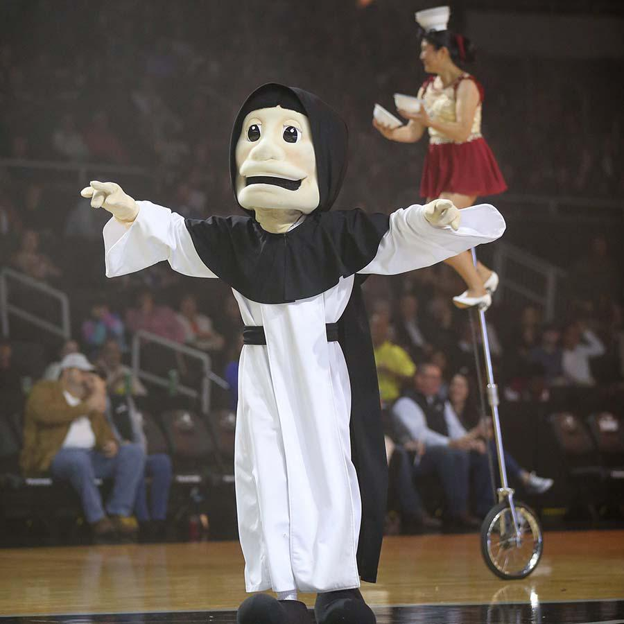 "The Friar at Providence College has gotten trendy, showing up in ESPN ""This is SportsCenter"" commercials."