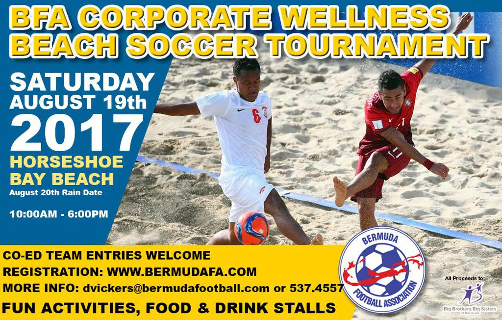 BFA Corporate Wellness Beach Soccer Tournament