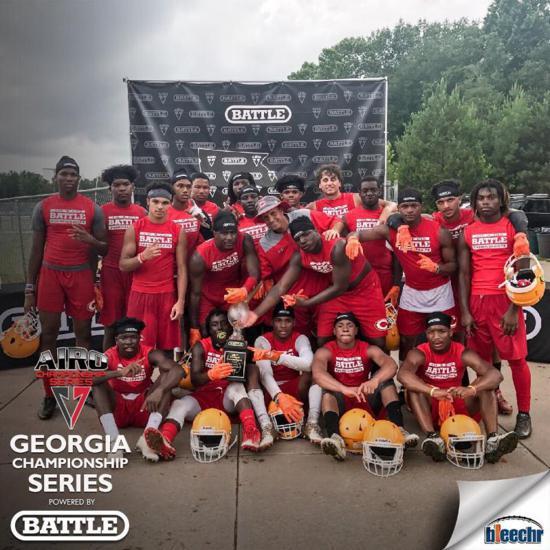 2017 GEORGIA 7V7 STATE CHAMPIONS-CLARKE CENTRAL
