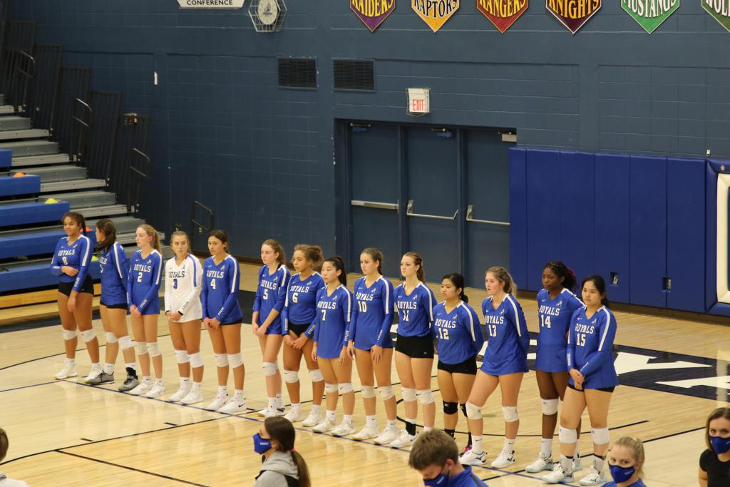 Woodbury Royals Volleyball