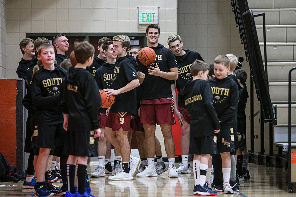 The early graduation of Riley Mahlman, who has enrolled at Wisconsin where he will play football, has left the Cougars scrambling to fill a hole with a big matchup against Eastview on the horizon. Photo by Mark Hvidsten, SportsEngine