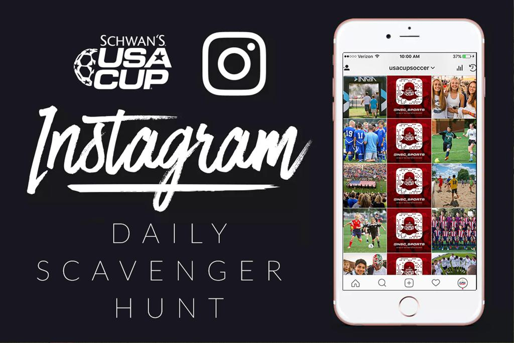 Instagram Scavenger Hunt