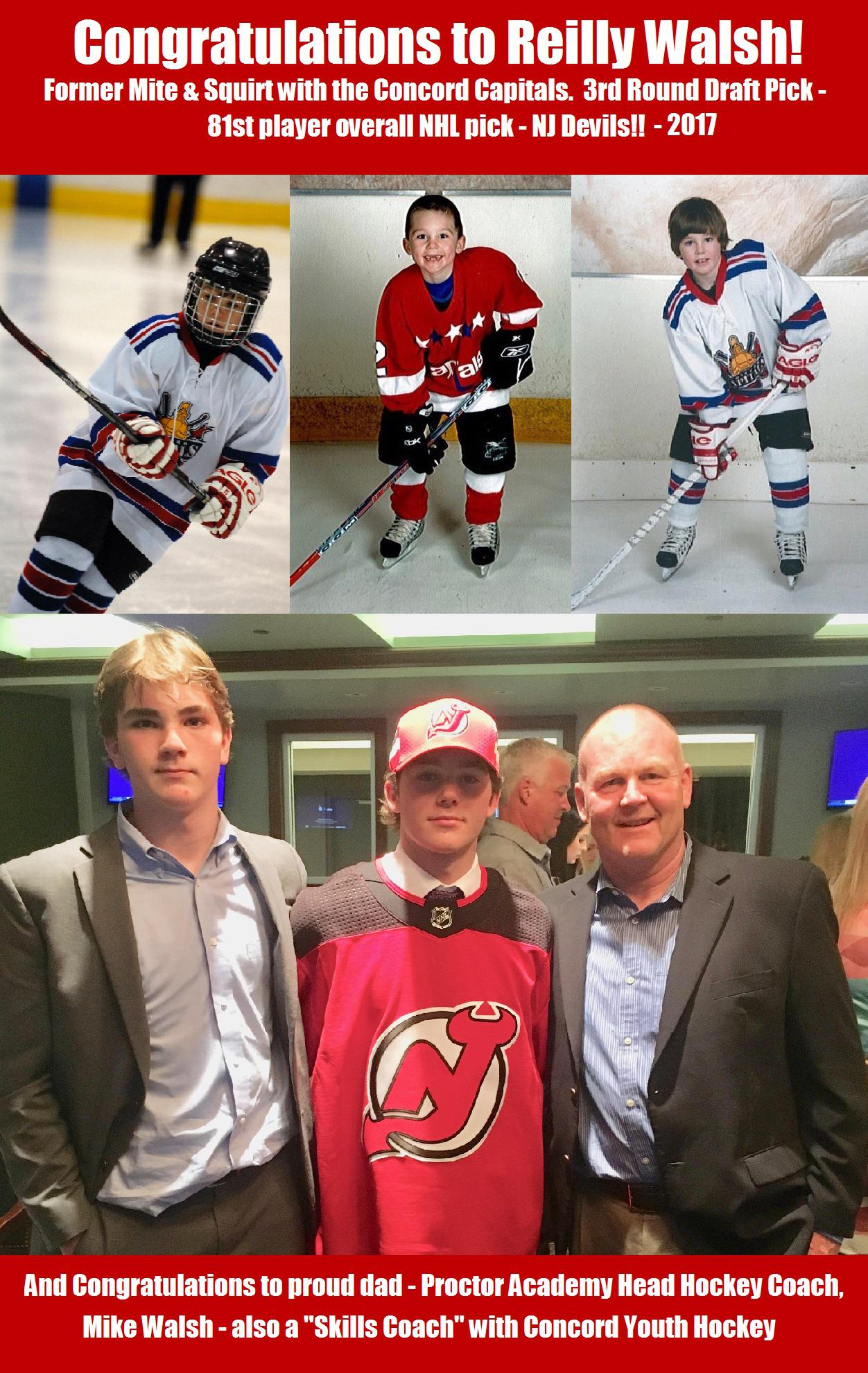 Former Concord Capitals Player Picked In 2017 Nhl Draft