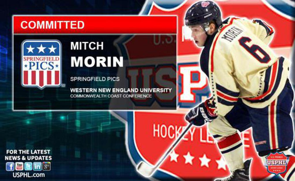 Mitch Morin commits to WNEU