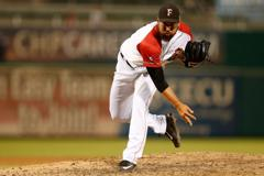 The 57th overall pick in the 2011 MLB Draft by the Toronto Blue Jays, Kevin Comer was traded to the Houston Astros as part of a 10-player deal the next year. He's a reliever for the team's Triple-A affiliate in Fresno.