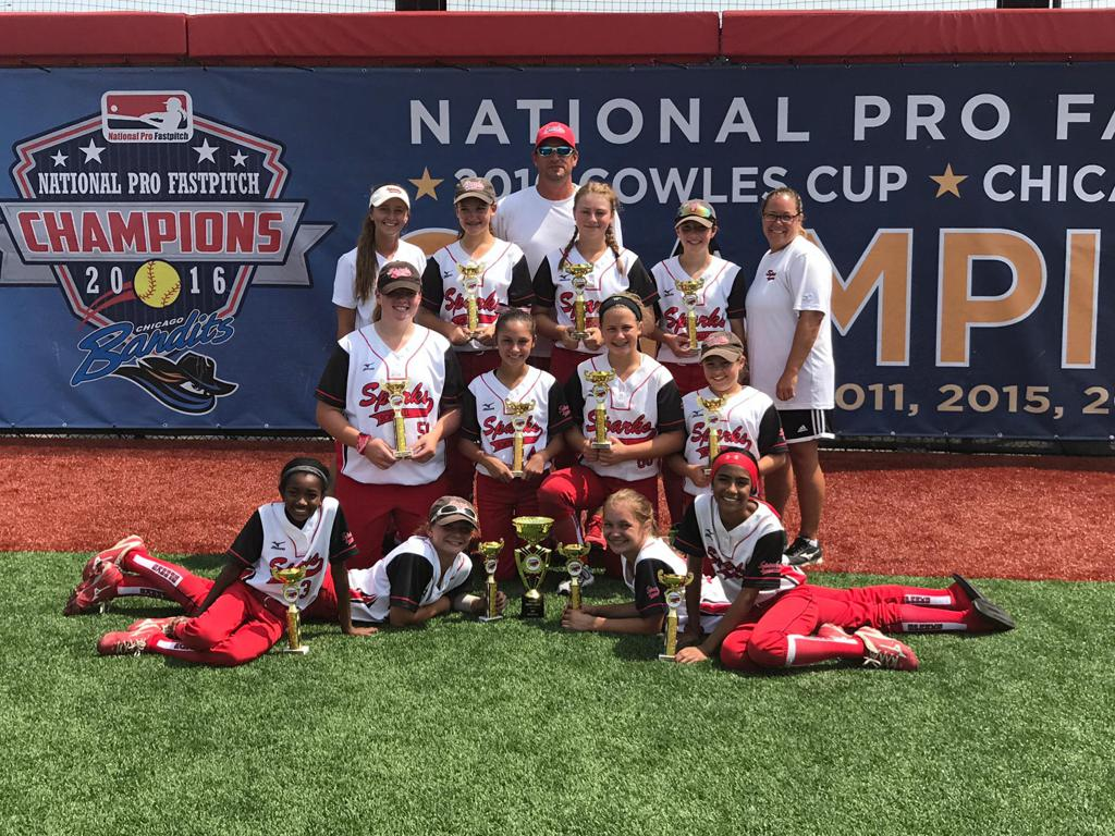 12U Sparks win the IL Power League Championship at Bandits Stadium