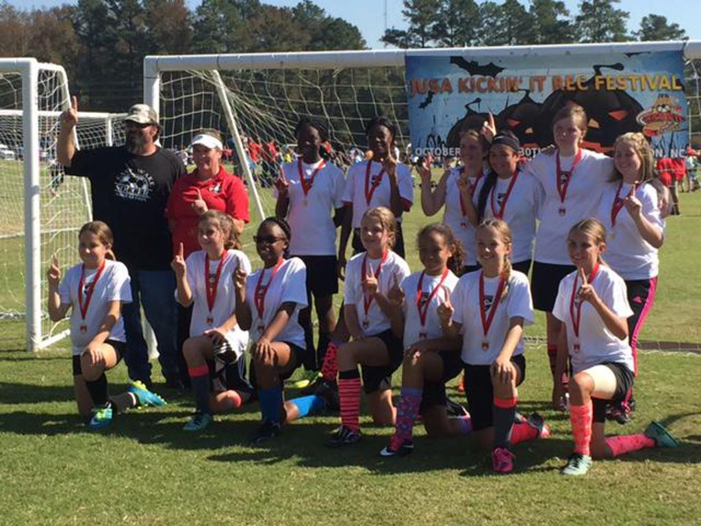 U15 Lady Wildcats - Winners - JUSA Kickin' It Festival Tournament 2016