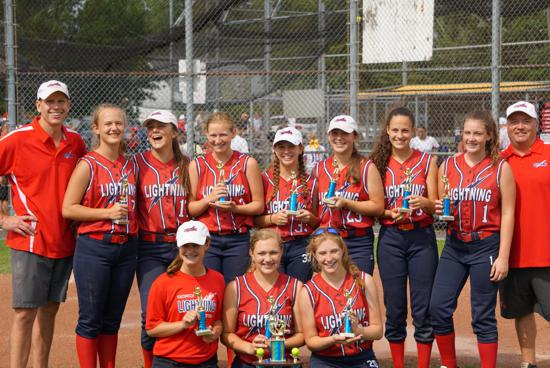 Lightning 14U Stamm wins Mel Ott 16U Tournament