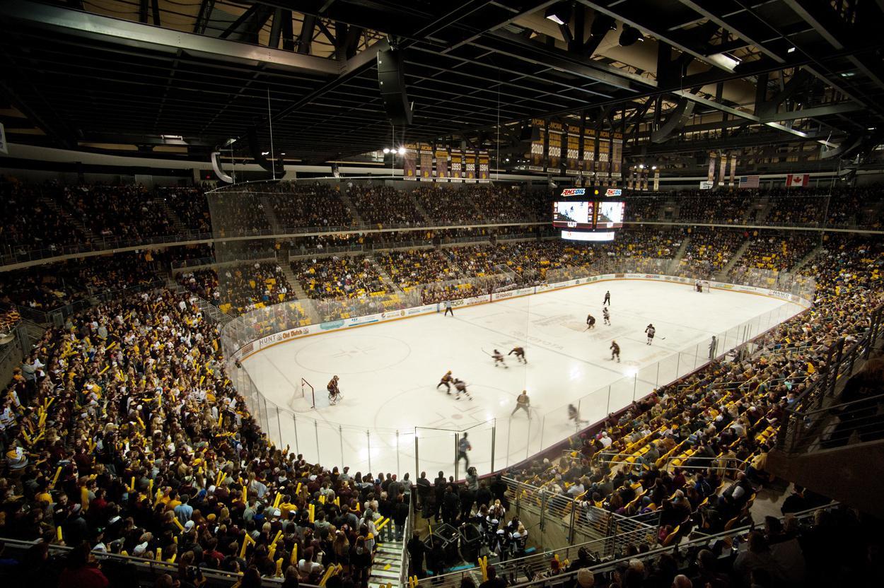 SiouxSportscom  NCHC Hockey Scores