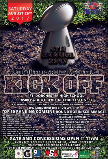 League Kickoff!!! 08/26/2017