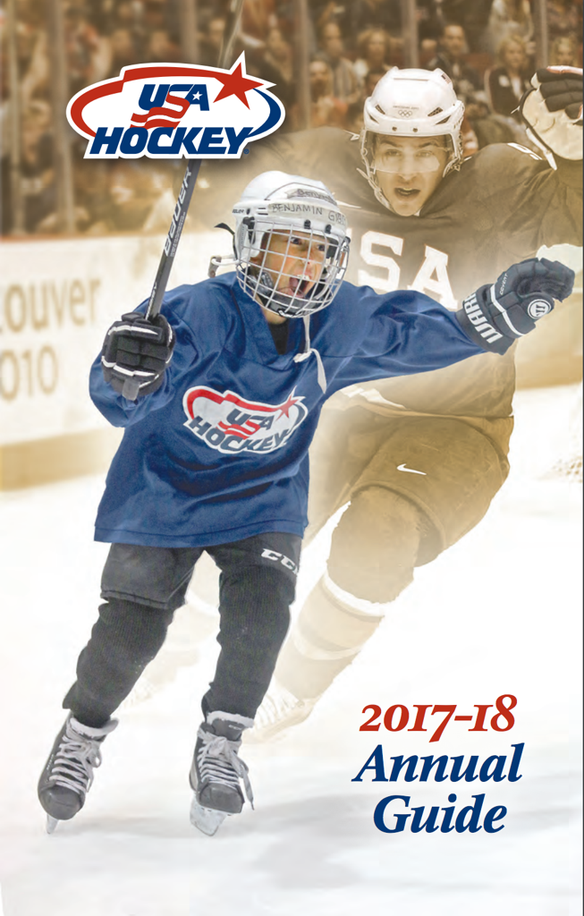 USA Hockey 2017-18 ANNUAL GUIDE