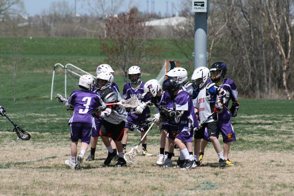 Eureka youth lacrosse team plays at SportPort