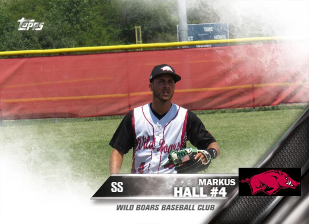 Markus Hall 2017 Wild Boars Rookie of the Year
