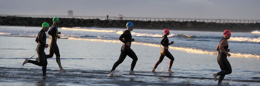 70.3 Oceanside swim