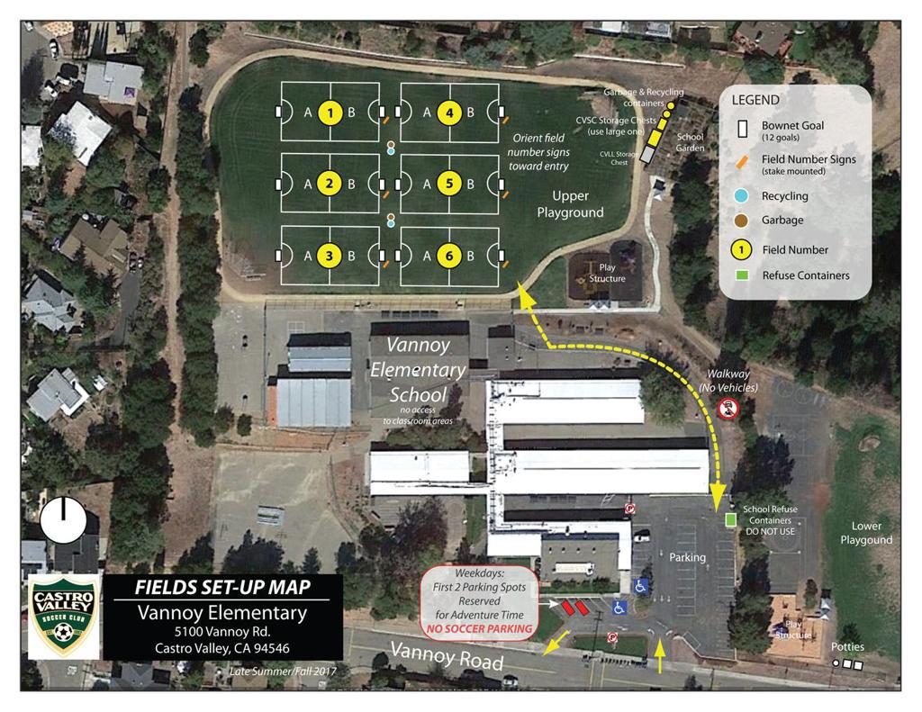 Vannoy Field Map
