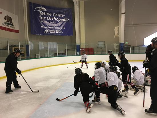 12U2 on the ice