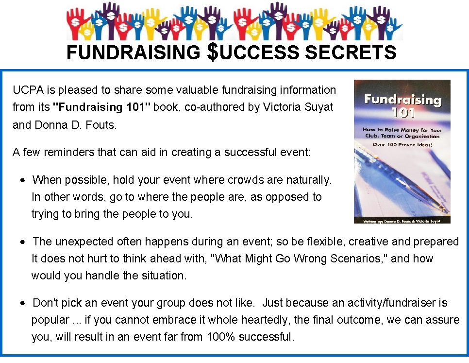 Fundraising Success Secrets