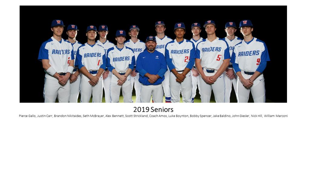 2019 Walton Seniors
