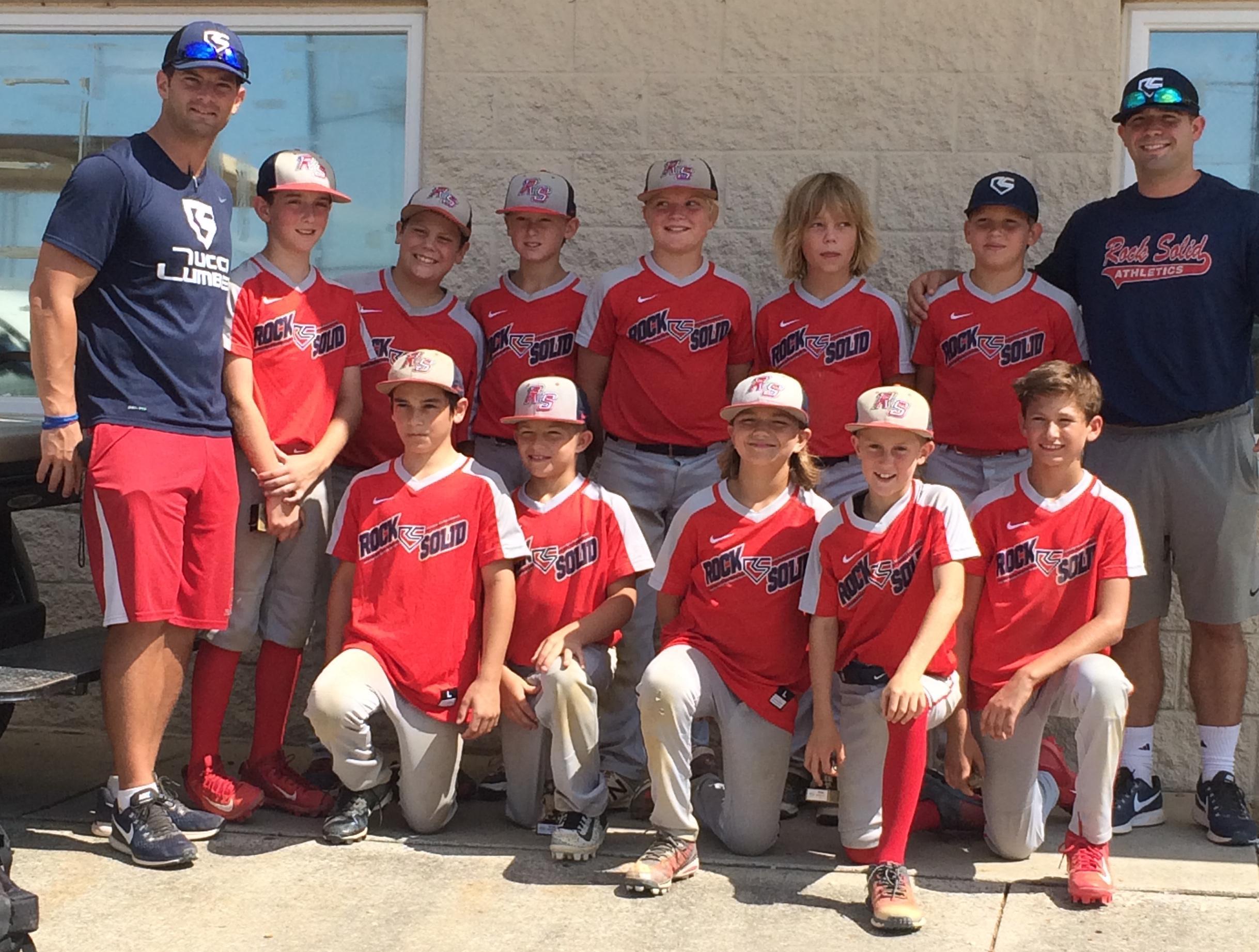 11U Red Rock Solid Baseball
