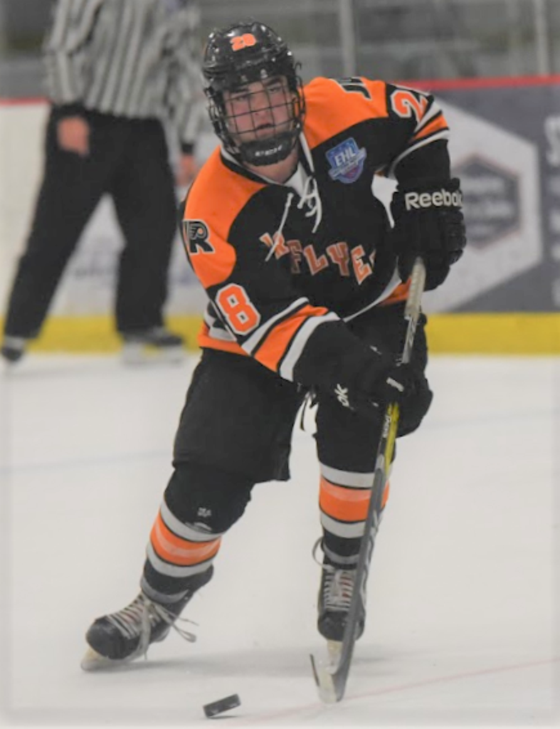 EHL's Jr. Flyers Leighton makes NCAA commitment to Salve Regina University