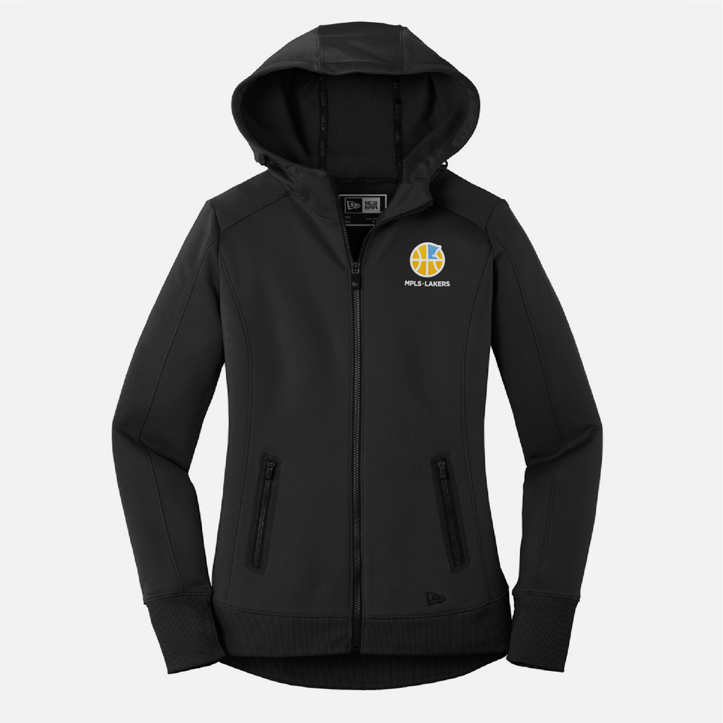 Official Mpls Lakers Youth Traveling Basketball Program Inc apparel and gear in Minneapolis, MN: Full Zip Hoodie with embroidered logo and text