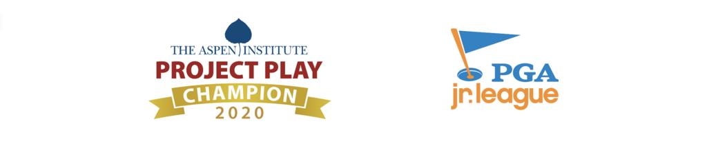 PGA Jr. League and Project Play Logos