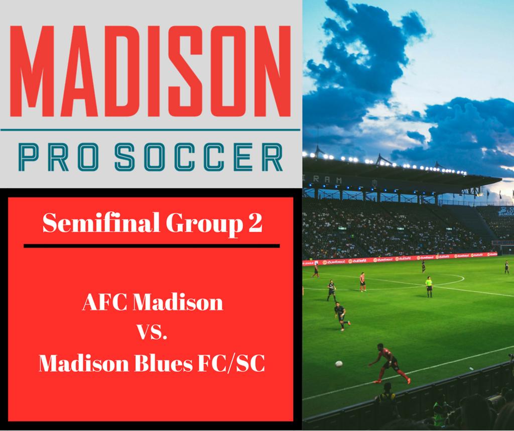 Group 2 Semifinals