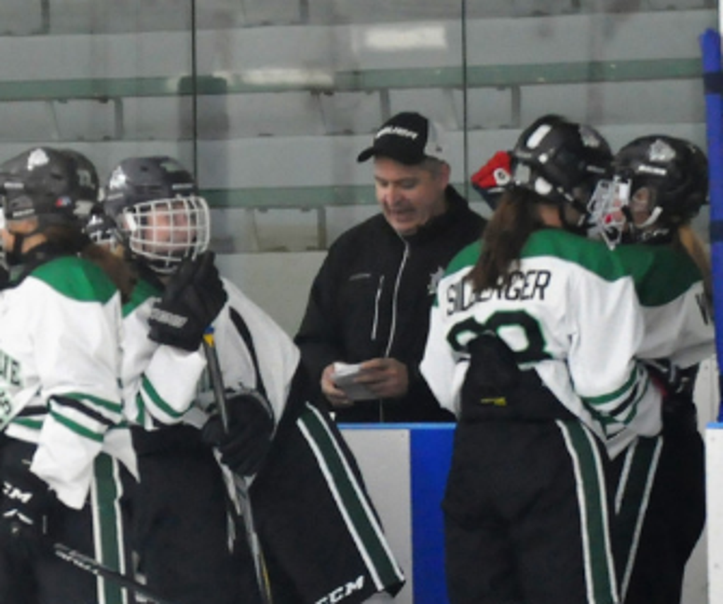Shoreline Sharks President Ed Rodham Coaching a Game
