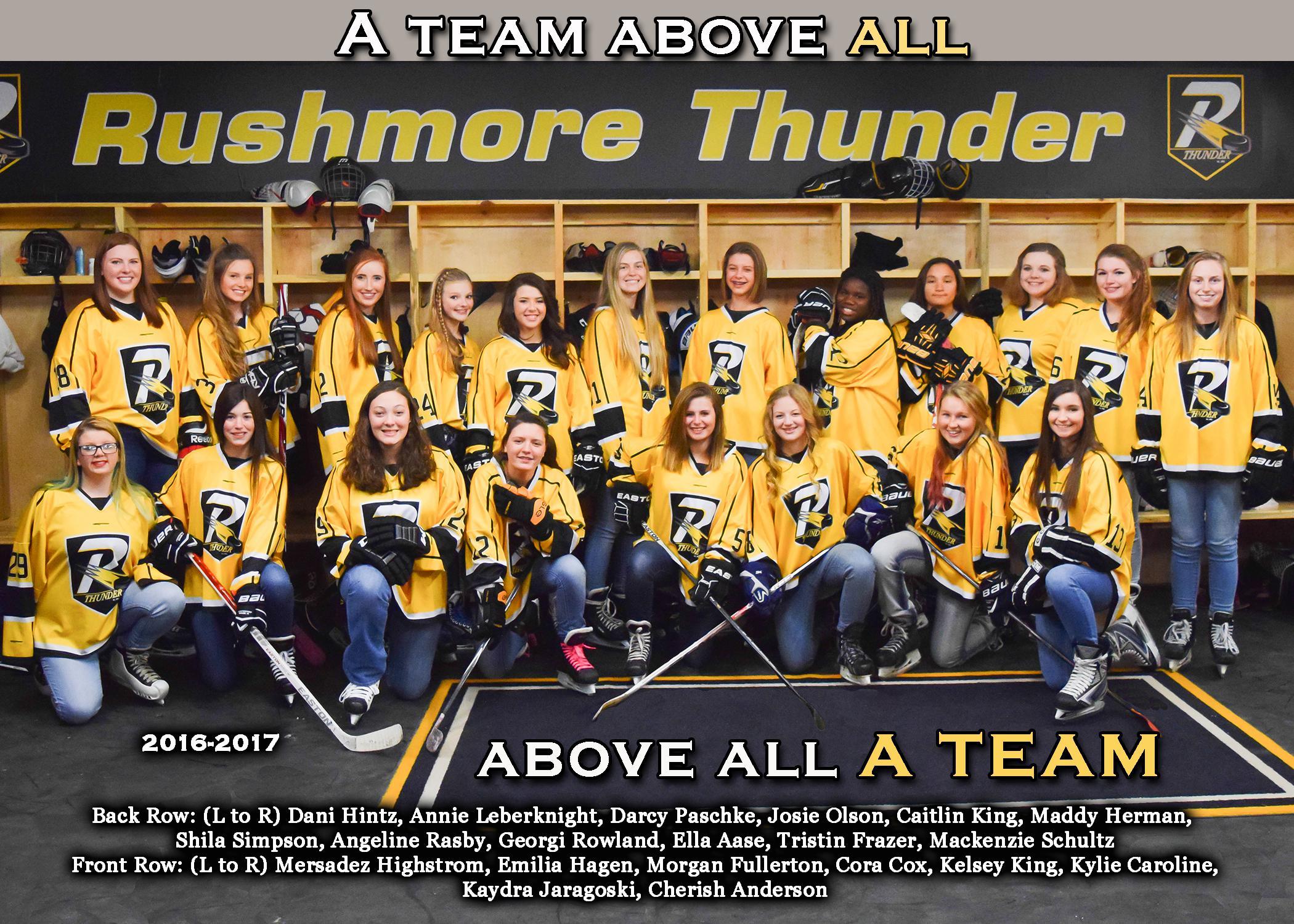 2016-17 Lady Thunder