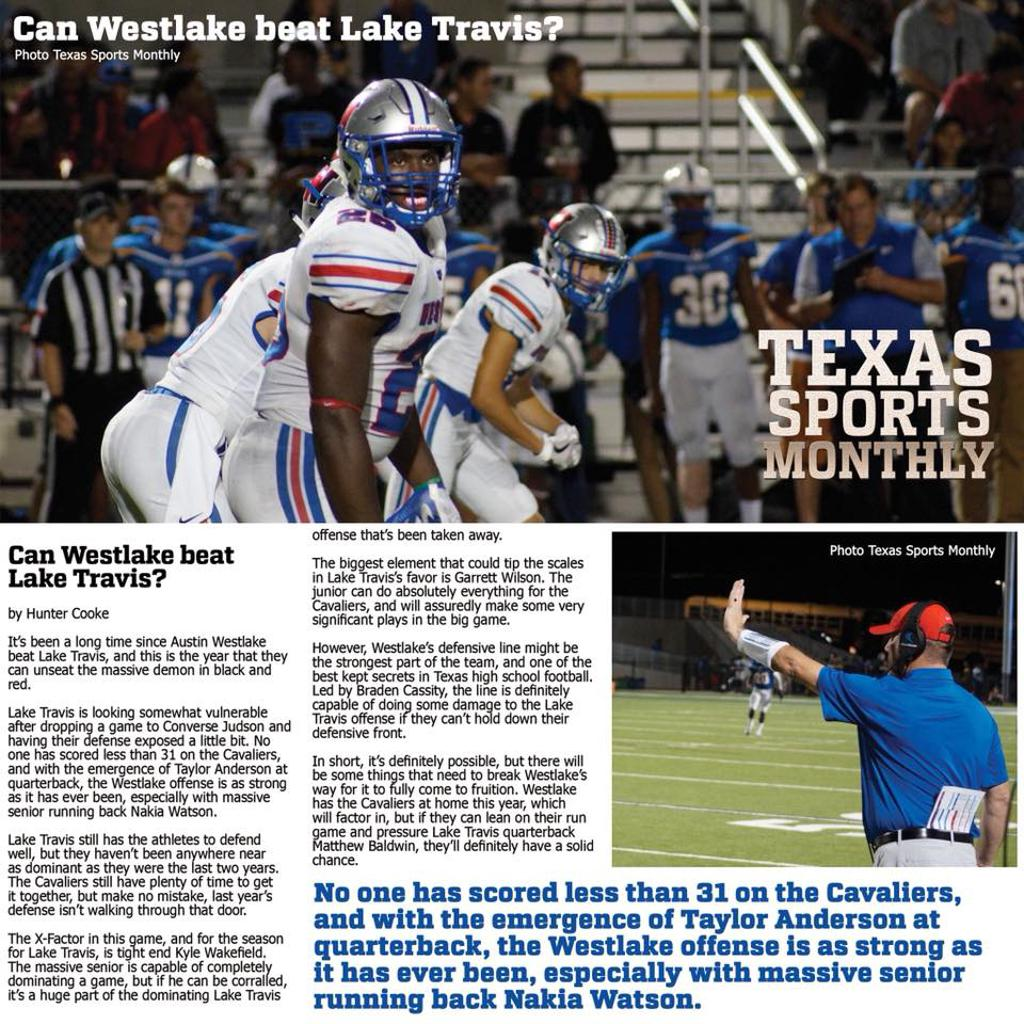 Can Westlake beat Lake Travis?
