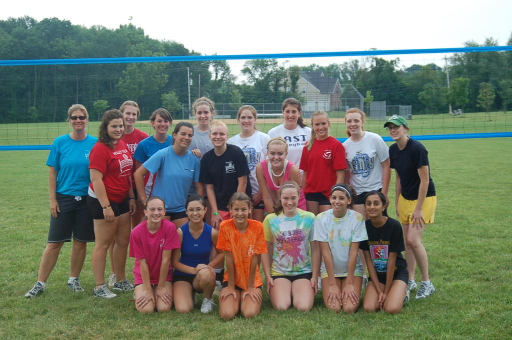 VOLLEY TECH OUTDOOR SUMMER CAMP 2009- A FUN BLAST FROM THE PAST!